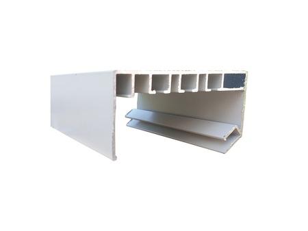 Profil aluminiowy karnisz biały
