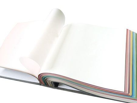 Folia z systemem harpun, satynowa biała kolor S303