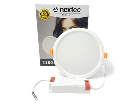 Oprawa sufitowa LED Nextec 24W Ø120 Neutralna